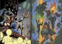 """JUSTICE LEAGUE #50 MAIN & VAR CVR SET """"Special extra-size anniversary issue!"""""""