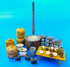Plus Model EL049-1:35 Resin Bausatz Küchenstühle