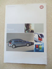 Original 2003 Vauxhall Signum cars advertising booklet