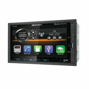 Soundstream VM-622HB 2 DIN SD/USB/MP3 Media Player Bluetooth Android Phone Link