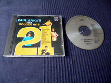 CD Paul Anka - 21 Golden Hits Best Of Greatest Hits Collection DIANA RCA 1963