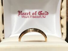 Band Ring 4.7mm Wide, Size 10.5 14Kt Yellow Gold Polished Shiny Wedding
