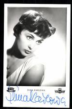 Elma Karlowa Netters Autogrammkarte Original Signiert ## BC 22151