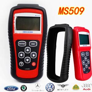 Great Car EOBD OBD2 OBDII Live Data Reader Diagnostic Scanner Engine MS509 Kit