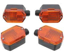 Set Blinker 6-eckig Gelb Passt für Simson SR50 S51 S50 S70 MZ ETZ 251 Glühbirne