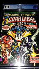 Marvel Presents 3 CGC 8.5 (VF+) 1st Solo Guardians of the Galaxy book - New Slab
