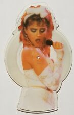 "MADONNA ANGEL BURNING UP 7"" SHAPED PICTURE DISC VINYL W8881P 1985 Record"