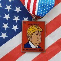 Fiesta Medals San Antonio President Donald Trump 2020 Election Pin