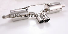 Stainless Steel Exhaust System Catback Fits Porsche Boxster 986 97-04