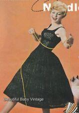 Black Vintage Crocheting & Knitting Patterns
