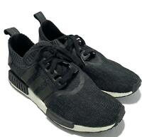 NEW, ADIDAS MEN'S CHARCOAL GRAY 'NMD' SNEAKERS, 8.5, $180
