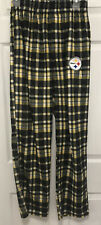 NEW NFL Team Apparel Pittsburgh Steelers Sz S Flannel Plaid Pajama Pants  Logo