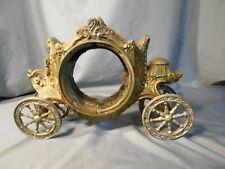 Antique Cast Metal Clock Body - Shape of a Carriage