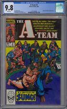 A-Team #2 CGC 9.8 NM/MT Wp Marvel Comics 1984 NBC TV B.A. Barracus Battles Sumo