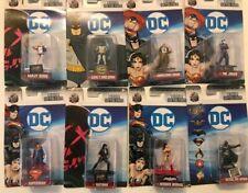 DC Action Figuren 8er Set - Nano Metalfigs - Harley Quinn, Batman, Joker,