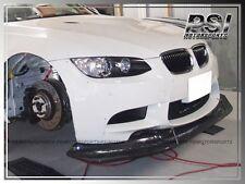 08-13 BMW E90 E92 E93 M3 ONLY LB Style Carbon Fiber Front Bumper Lip 2Dr 4Dr