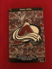 1995-1996 NHL Colorado Avalanche media guide / First season / Stanley Cup champs