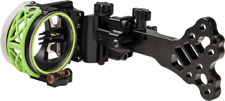 Fuse Cybex Xt 5-Pin Black Rh or Lh .019 Micro Bow Hunting Sight - Usa Ships Free