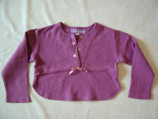 Haut de pyjama ORCHESTRA - 3 ans - petit noeud rose satin - NEUF juste lavé