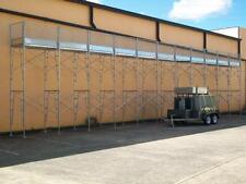 New Australian Design Scaffolding Frame 20m Long X 6.5m Access Height Scaffold