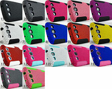 for Samsung Galaxy S III 3 S3 + PryTool Dual Layer Hybrid Mesh Case Cover Phone