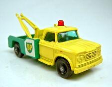 """Matchbox RW 13D Dodge Wreck Truck grün & gelb """"BP"""""""