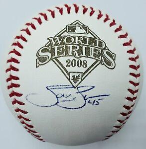 Tom Gordon Signed / Autographed Phillies OMLB 2008 World Series Baseball.