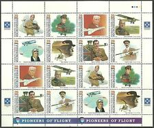 Aviation Mint Never Hinged/MNH Sheet Stamps