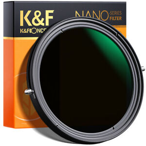 K&F Concept 49/58/67/82mm Camera Lens Filter ND2-ND32 and CPL 2 in 1 No X Spot