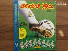 PANINI EURO 1992 EM 92 * EMPTY ALBUM LEERALBUM  VGC German Edition + ORDER FORM