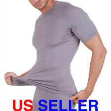 ARMEDES Mens Short Sleeve T-Shirt Cool Dry Compression Baselayer AR 131