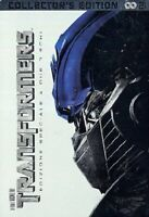 Transformers DVD 2 Dischi Nuovo Collector's Edition Metal Box Steel Book Tin