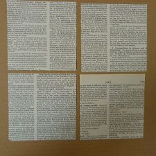 40 sheets ORIGAMI paper 10 x 10cm , random text with MUSIC THEME in english