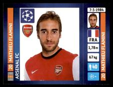 Panini Champions League 2013-2014 Mathieu Flamini Arsenal FC No. 415