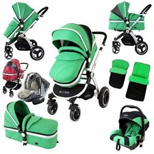 iSAFE Travel System 3 in 1 Features Pushchairs & Prams