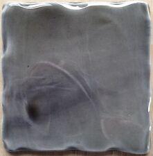 Tormenta hecho a mano color gris, 11cm RC Azulejo muestra, hecho en Reino Unido