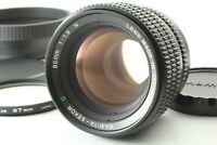 【Exc+3】 Mamiya Sekor C 80mm f/1.9 N For Super Pro TL w/ Hood Caps From Japan 539