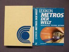 Lexikon der Metros der Welt, U-Bahn, Geschichte, Technik, transpress EA 1985 DDR