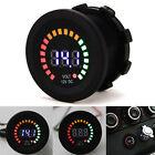 Car Digital Led Volt Gauge Meter Voltage Led Panel Voltmeter Display Dc 12v