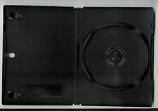 Black 4-Disc. dvd box / cd  Case  with stack hub & holds 4 discs.
