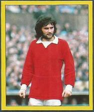 Panini Fútbol 88- #286-MANCHESTER United-George Best