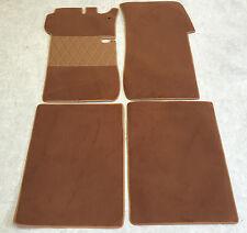 Fußmatten Autoteppich für Mercedes W 114/8 Coupe 4 teilig Cognac Neuware