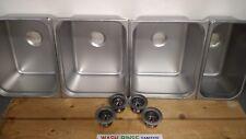 Large 3 4 Compartment Portable Concession Sink Basinsdrains