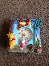 Disney Winnie The Pooh Quartz Alarm Clock Piglet Tiger