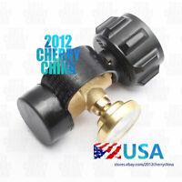 Propane Tank Brass Adapter 4 Master LP Gas Grill BBQ RV Pressure Meter Gauge USA