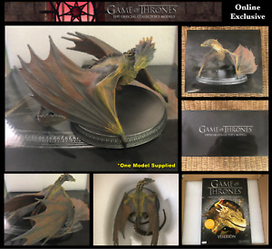 Game of Thrones Official Models: Viserion Dragon Model (Online Exclusive) Boxed