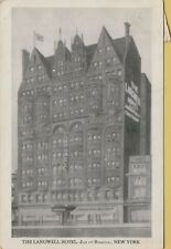 VTG The Langwell Hotel Just off Broadway in New York City NY Postcard