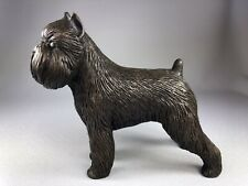 Tony Acevedo Cold Cast Bronze Brussels Griffon Dog In Show Pose, Gorgeous!