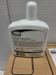 Rubbermaid Commercial Odor Control Pump Air Freshener Refill, ocean Breeze, 8 oz