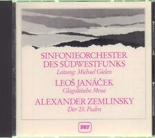 SINFONIEORCHESTER DES SÜDWESTFUNKS Leos Janacek & Alexander Zemlinsky CD